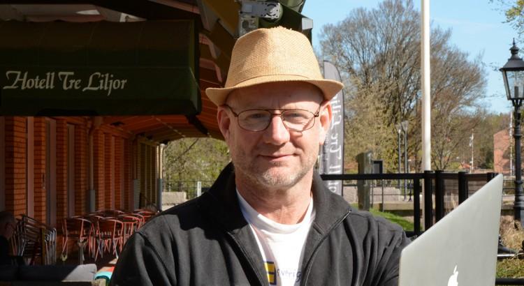 Thomas Lundh, redaktören.